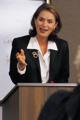 public speaker image