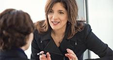 Eleni coaching a client