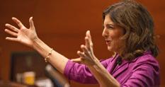 Eleni presenting a keynote