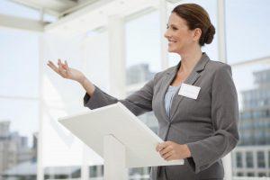 business-woman-speaking